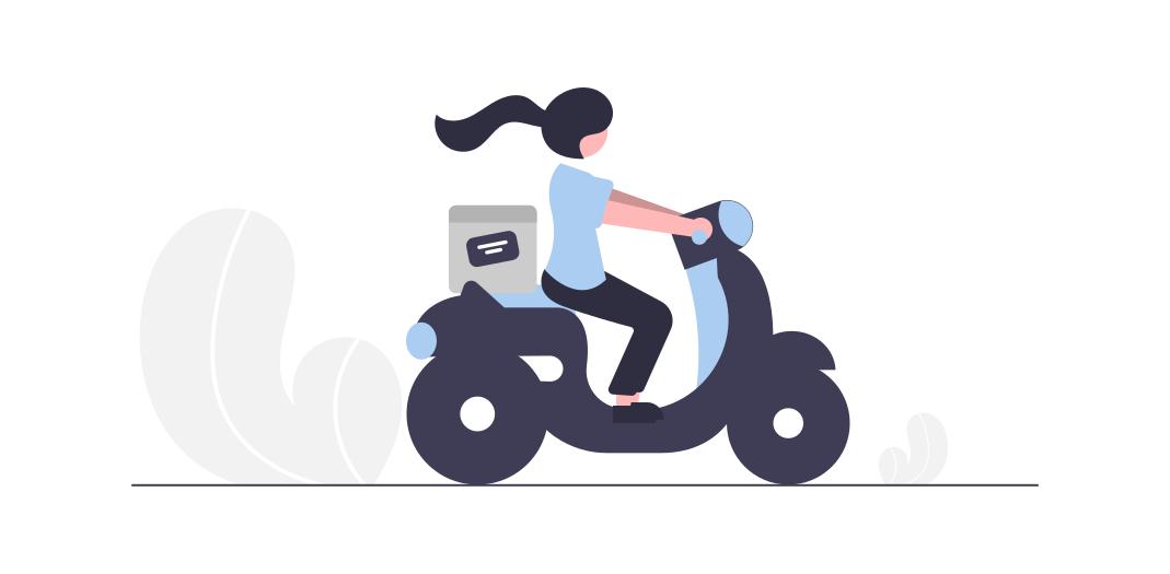 coursier moto